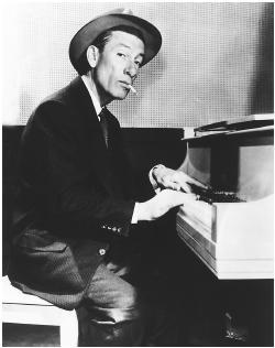 Hoagy at the piano