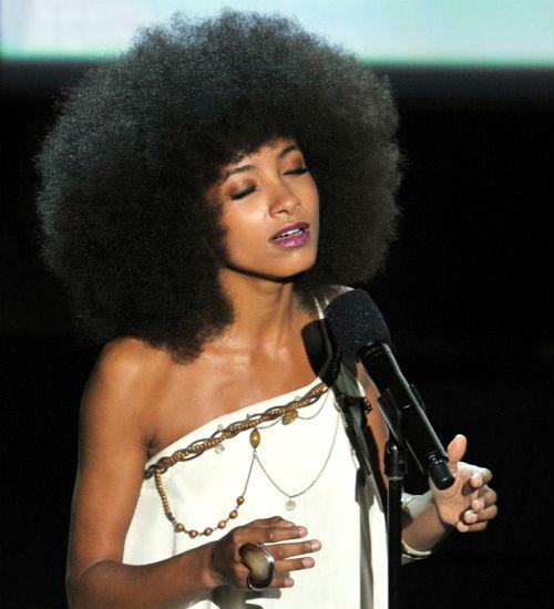 Esperanza Spalding at Oscars