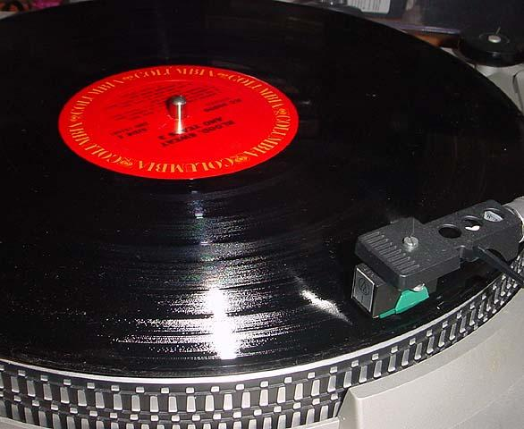 33 1/3 RPM Long-playing record